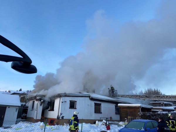 Einsatz Nr.: 09/2021 – Gebäudebrand in Kaufungen